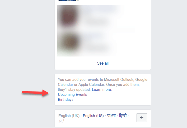 How To Export Events From Facebook