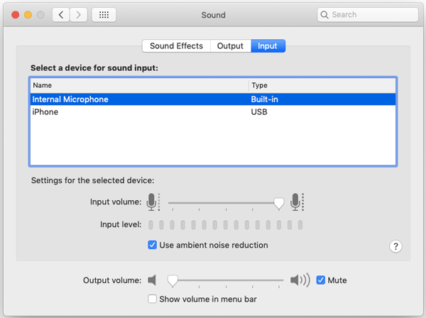 How To Use iPhone As Microphone For Mac
