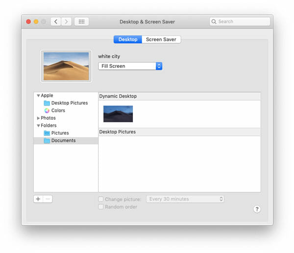How to set dynamic wallpaper on mac mojave