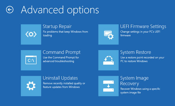 How to uninstall windows 10 updates if pc not booting