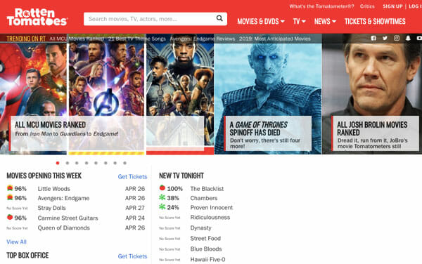 Best Websites To Track And Check Movie And Web Series Info