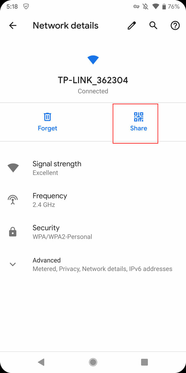 Share Wi-Fi Without Sharing Password In Android Q