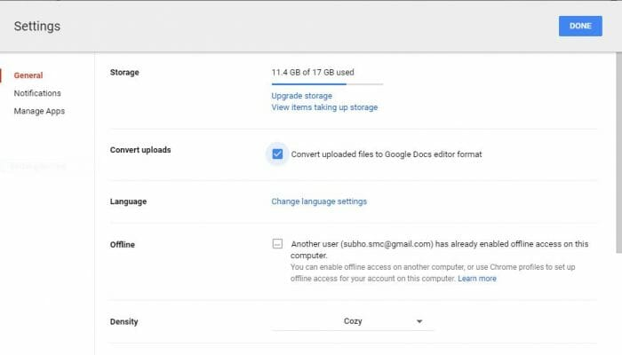 convert-files-in-google-drive-settings-page