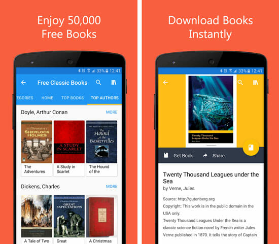 50000 Free eBooks & Free AudioBooks