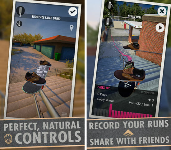 Best Skateboarding Games Ever Made For Android And iOS