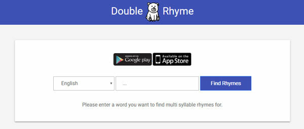 Double Rhyme Best Sites To Find Rhyming Words