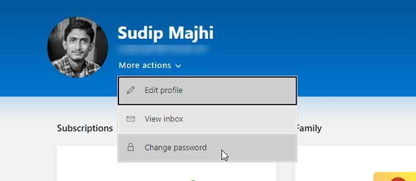How To Change Outlook.com Password From PC
