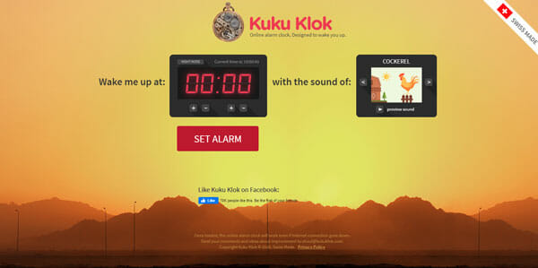 Best Online Alarm Clock Websites