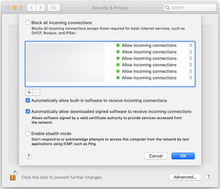 How To Turn Off Firewall On Mac