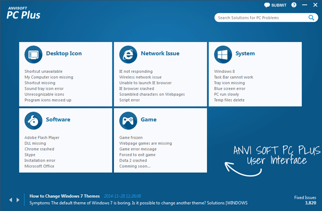 ANVISOFT PC Plus – Most light weight System Tweaker for Windows