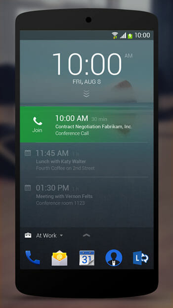 Access Notifications from Next Lock Screen