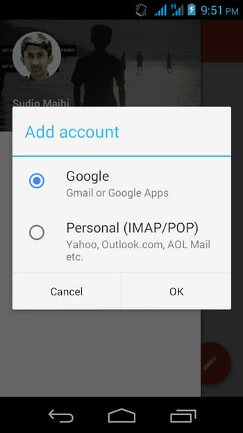 Access Other Email Account in Gmail
