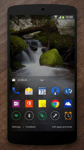 Add more Apps using Next Lock Screen