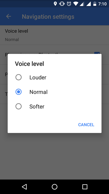 Adjust Only Google Maps Navigation Volume on Android