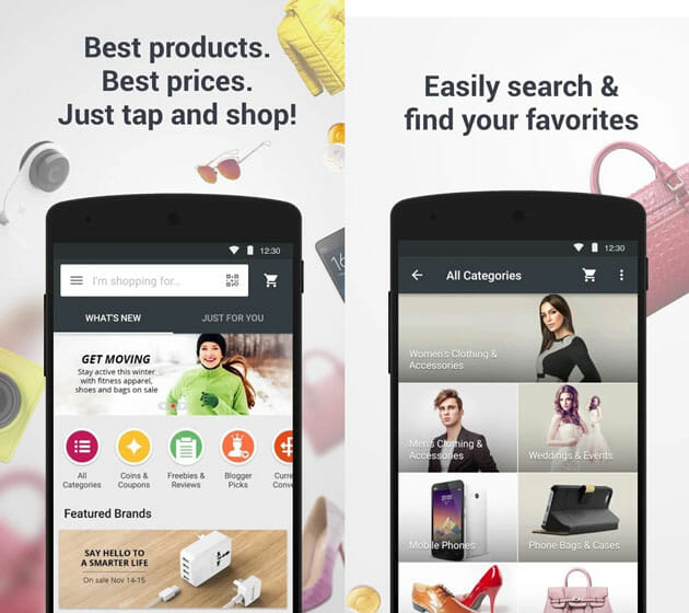 AliExpress best shopping apps for Android