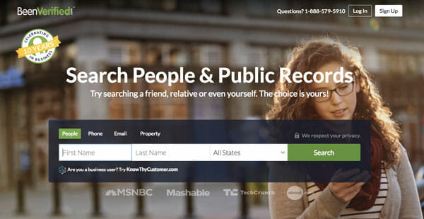 BeenVerified Best people search engine to find anyone easily