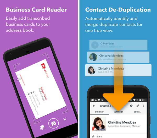 best business card scanner apps for android and ios - Business Card Scanner Apps