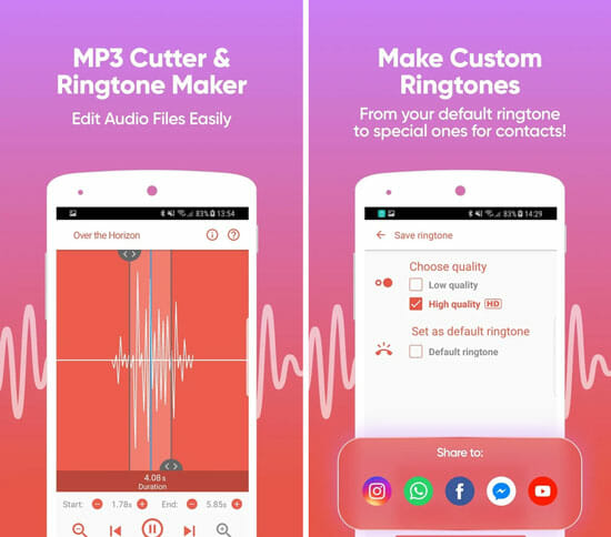 Best mp3 Cutter Apps for Android