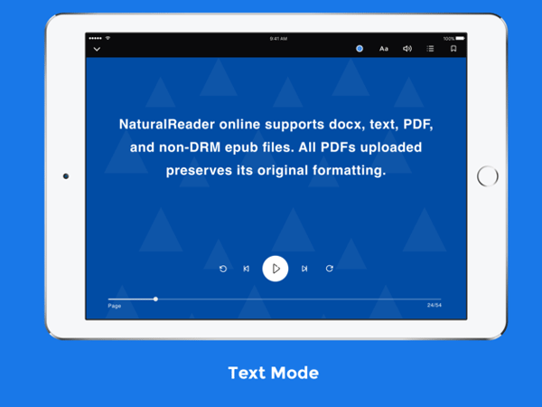 Best text reader app for iOS