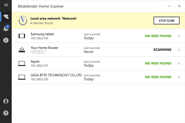 Bitdefender Home Scanner