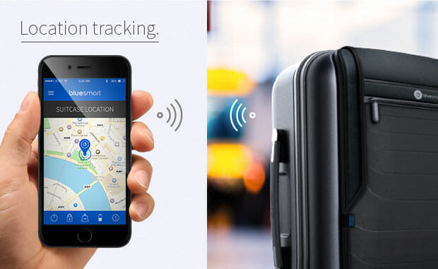 Bluesmart Location Tracking