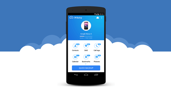 CM Backup Best Free Android Apps to Backup Data