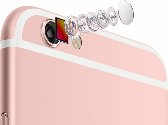 Camera of new apple iphone