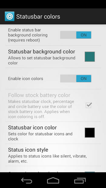 Change-Status-bar-icon-color