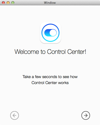 Control Center for Mac First Look