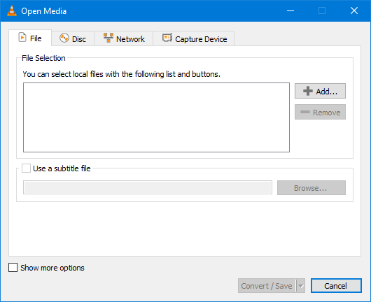 Convert Media Files Using VLC Media Player