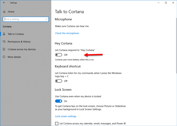 Cortana Not Working on Windows 10