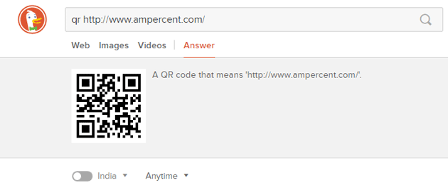 Create QR Code Best DuckDuckGo Search Tips and Tricks