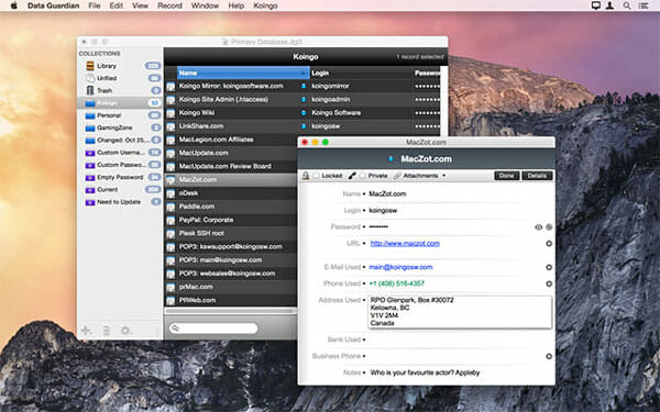 Data Guardian Best Apps to Password Protect File and Folder on Mac