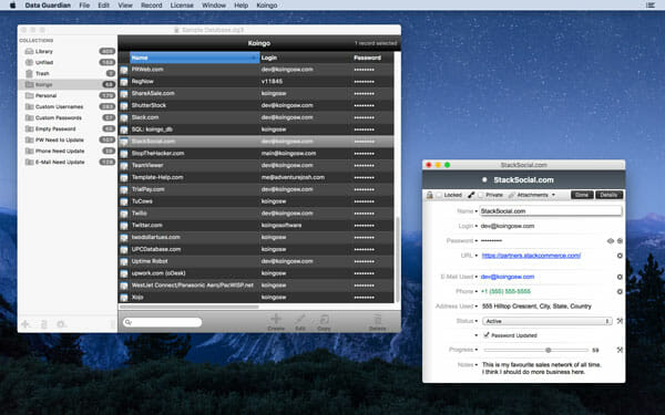 Data Guardian Best Mac Apps to Encrypt File and Folder