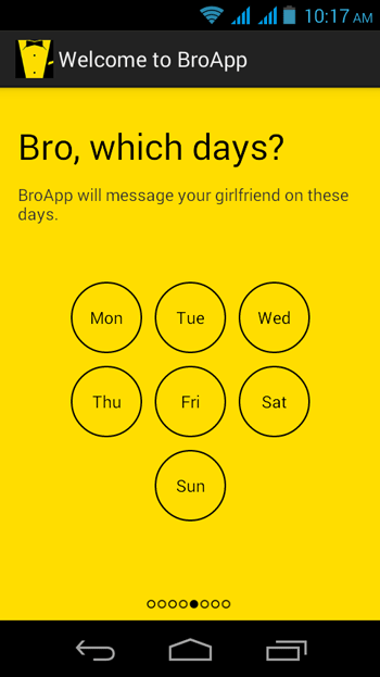 Day-Selection-in-BroApp