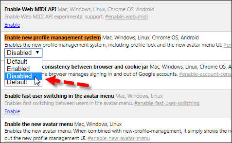 Disable-Chrome-User-Menu