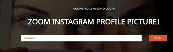 Download Instagram Profile Picture Using Online Apps