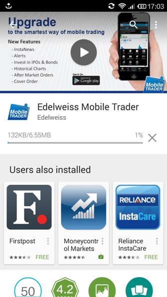 Edelweiss Mobile Trader App Download for Android