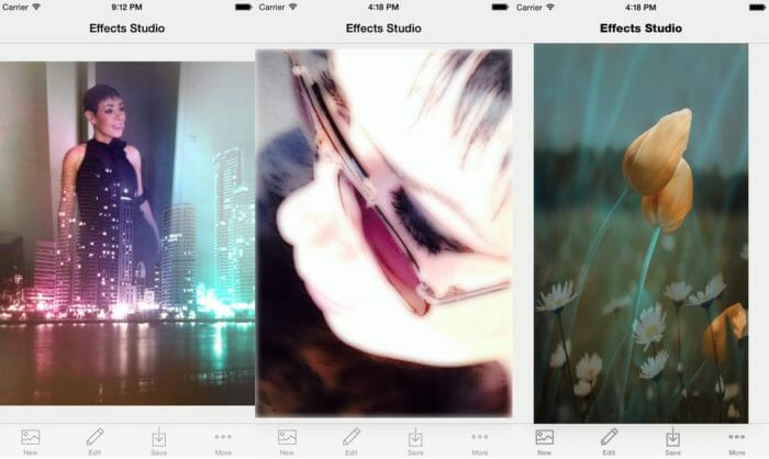 Effects Studio photo editing app for iOS 8_1