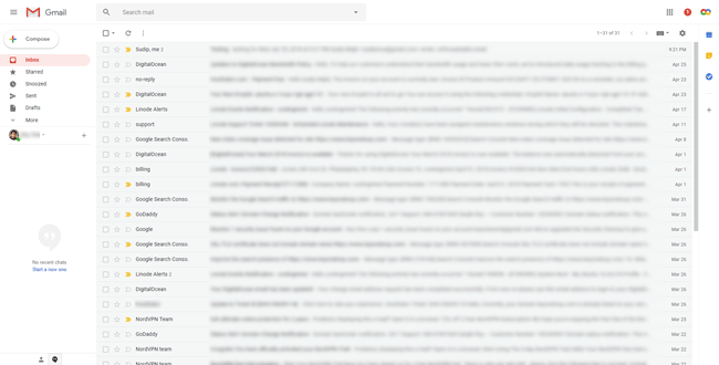 Enable New Gmail Interface and All the New Features