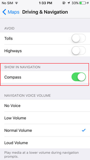 enable-compass-best-apple-maps-tips-and-tricks