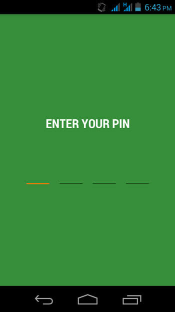 Enter-PIN-in-Writeily-Pro