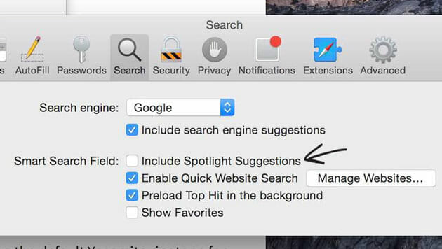 Exclude-Spotlight-suggestion-in-safari