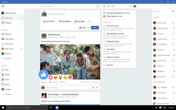 Facebook Best Social Media Clients for Windows