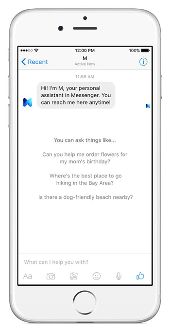Facebook M First Look