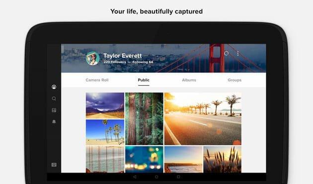 Flickr for Android Google Photos alternatives