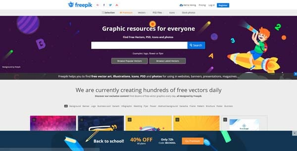 Freepik Best Websites to Download Adobe Illustrator Templates