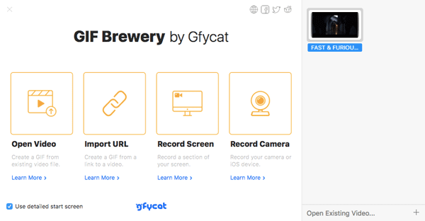 GIF Brewery by Gfycat How to Create GIF Image on Mac Best Apps to Make GIF