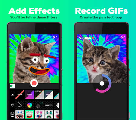 GIPHY CAM Best GIF Maker Apps for Android