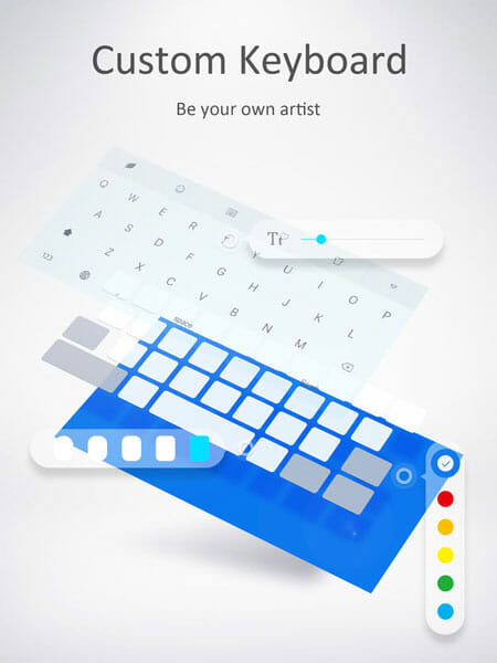 GO Keyboard Best Third-Party Keyboard Apps for iPhone